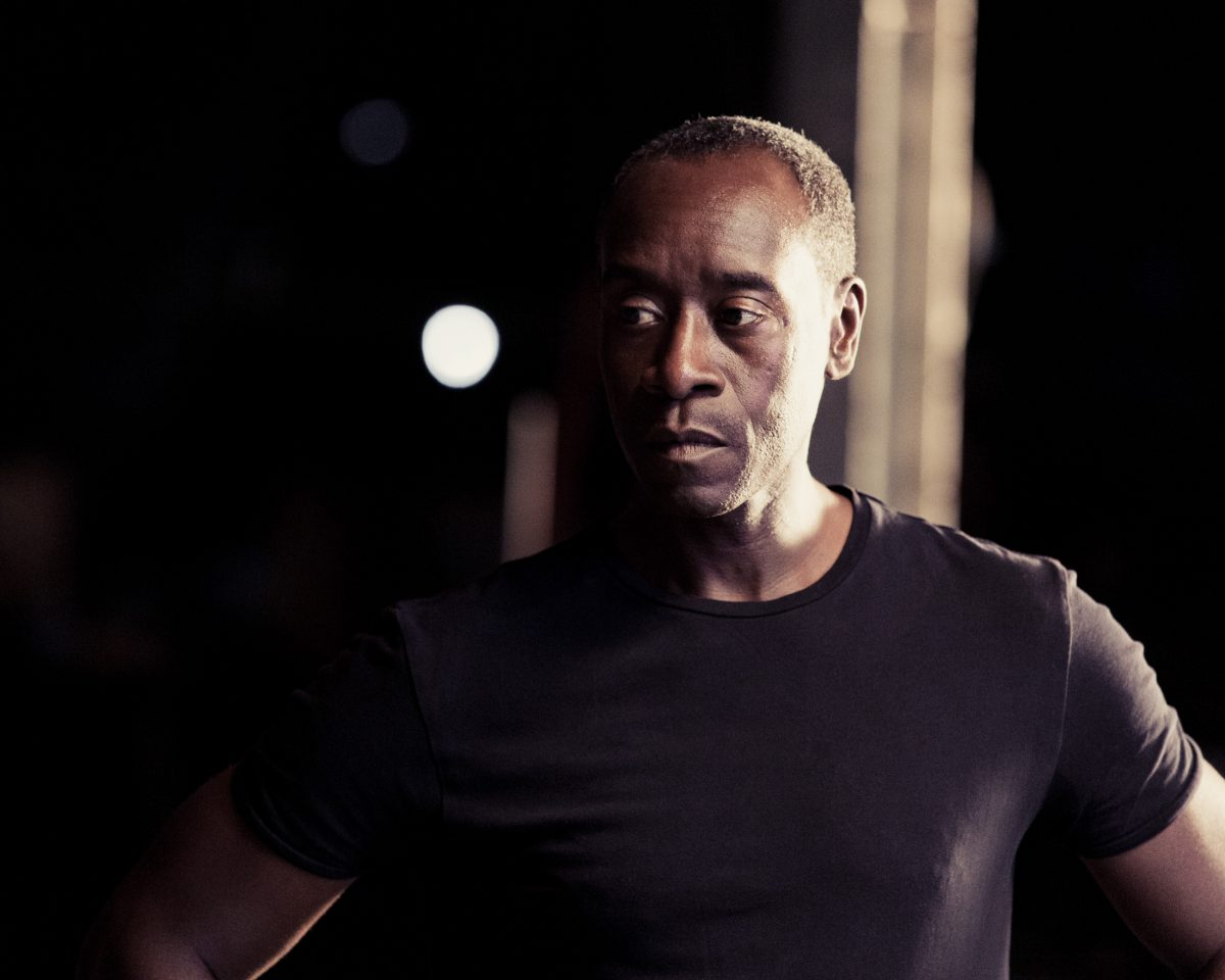 Don Cheadle for Vanity Fair by Hamish Robertson